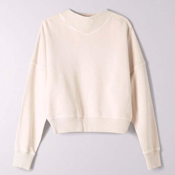 Wilfred | KATY Cropped Sweatshirt Mock Neck